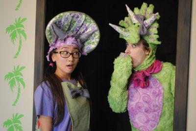 Sarah the Dinosaur by Pollyanna Theatre Company