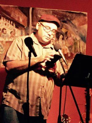 Texas Nafas Presents Poet Chris Carmona