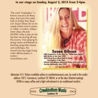 Susan Gibson at Creekbottom Music