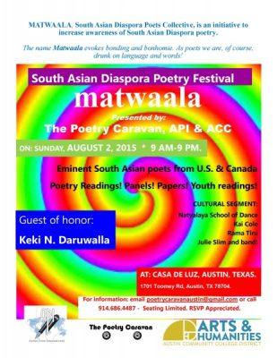 Matwaala: South Asian diasporta poets festival