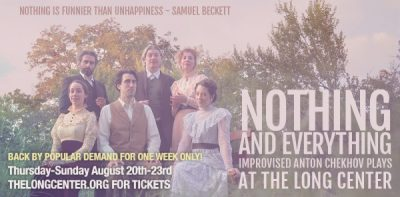 Nothing and Everything: Improvised Anton Chekhov Plays