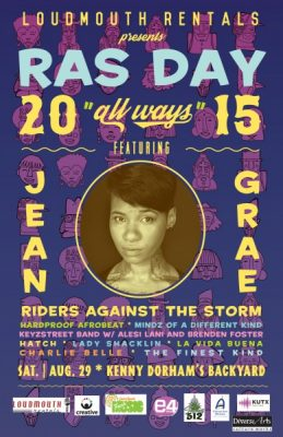 RAS DAY 2015 featuring Jean Grae