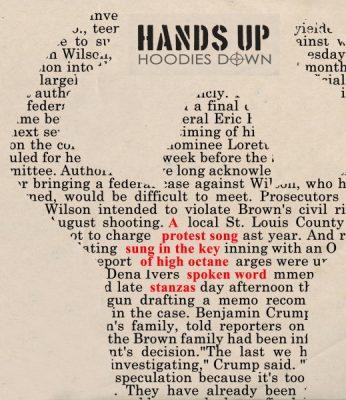Hands Up Hoodies Down