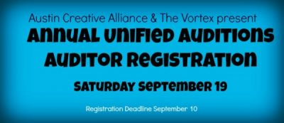 2015 Annual Unified Auditions (Registration for Auditors)
