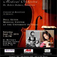 Medical Orchestra Concert to Benefit Dell Seton Medical Center