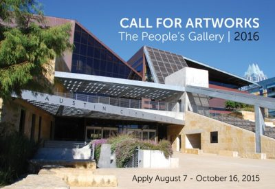 The People's Gallery 2016 Call for Artworks