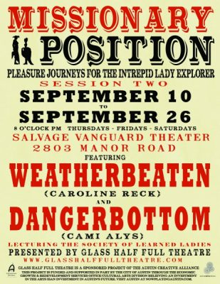 Missionary Position: Pleasure Journeys for the Intrepid Lady Explorer