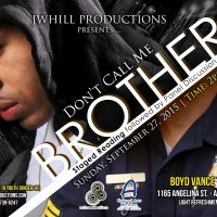 Don't Call Me Brother (Staged Reading)
