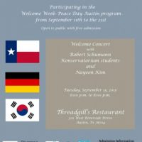 Welcome Concert with Robert Schumann Konservatorium Students  and  Nayeon Kim