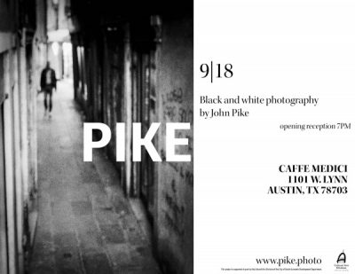 Black and White photography by John Pike at Caffe ...