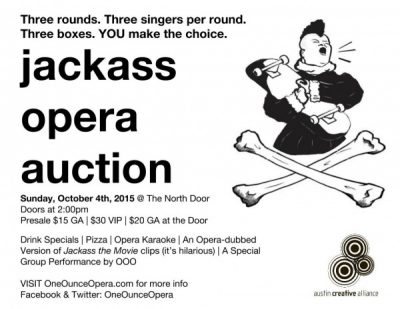 jackass opera auction
