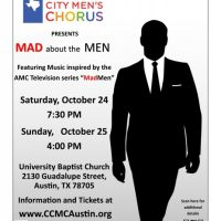 Capital City Men's Chorus presents