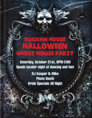 Halloween Ghost House Party