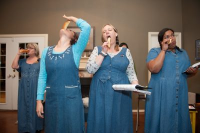THE MADE IN THE SVT WORKSHOP PERFORMANCE OF DENIM DOVES Written by Adrienne Dawes