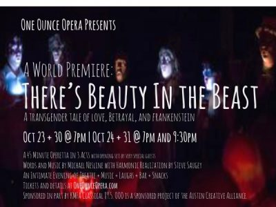 A World Premiere: There's Beauty In the Beast