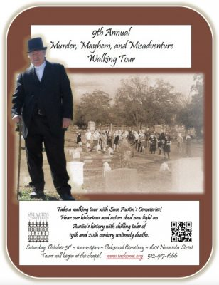 9th Annual Murder, Mayhem & Misadventure Walking Tour