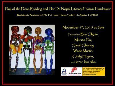 Day of the Dead Reading and Flor De Nopal Literary Festival Fundraiser