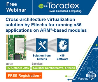 Guest Webinar: Running Intel x86 Applications on Toradex's ARM based Modules