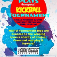 ATX Plays Kickball Tournament and Fundraiser