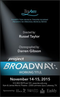 Project Broadway: Working Title