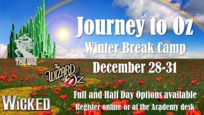 Journey to Oz Holiday Camp