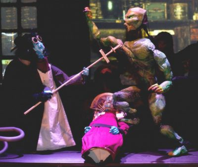 Frankenstein: The Trouble Puppet Show