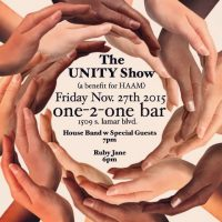 Graham Wilkinson's Unity Show Benefiting HAAM