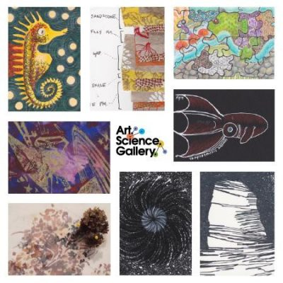 Opening Reception // Third Annual Art-Sci Trading Card Exhibition & Fundraiser