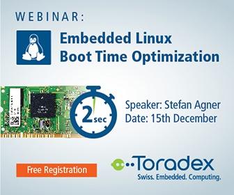 Webinar: Embedded Linux Boot Time Optimization