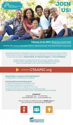 Central Texas African American Family Support Conference