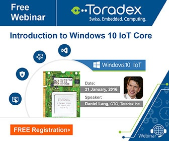 Webinar: Introduction to Windows 10 IoT Core