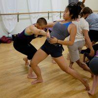 Int/adv contemporary dance class