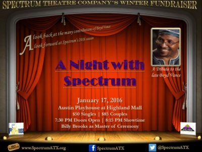 A Night with Spectrum/ A Tribute to Boyd Vance