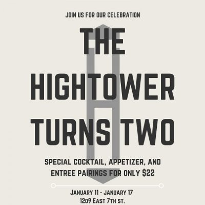 The Hightower Turns Two