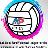 ATX Plays 6x6 Coed Sand Volleyball League to Raise Awareness