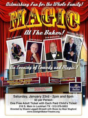MAGIC at the Baker!