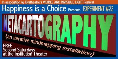 MetaCartography #3 {an iterative mindmapping installation}
