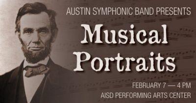 Austin Symphonic Band Concert: Musical Portraits