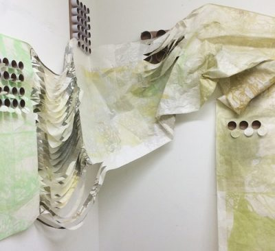 Visiting Artist Francine Affourtit: Collaborative Relief Printmaking - Working Large