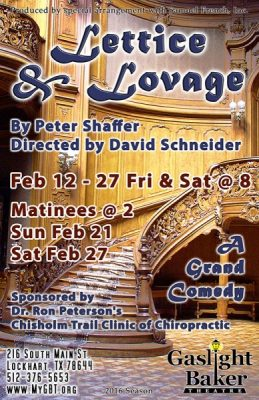Lettice and Lovage-a comedy by Peter Shaffer