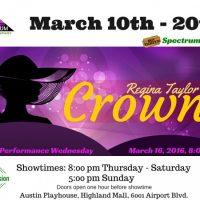 Crown's: A Gospel Play by Regina Taylor