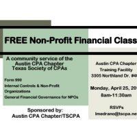 Non Profit Financial Class