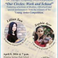 """Starlight Symphony Orchestra presents """"Our Circles - Work & School"""""""