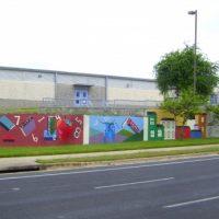 200 FT McBee Elementary School Mural