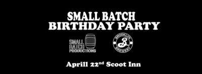Small Batch Birthday Party