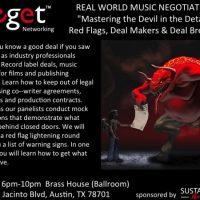 "Real World Music Negotiating: ""Mastering the Devil in the Details"""