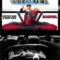 Deadpool and Van Wilder at the Drive-in