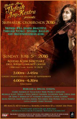 Sephardic Crossroads 2016