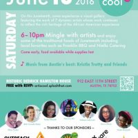 Art is Cool: Juneteenth Celebration