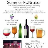 Summer FUNraiser benefiting the Austin City Ballet